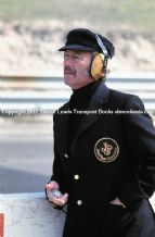 Colin Chapman - Lotus F1 Pit wall US GP 1975
